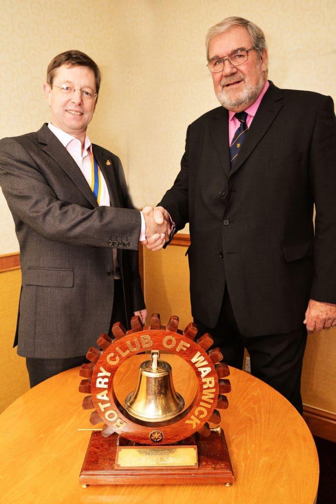 Warwick Rotary talk